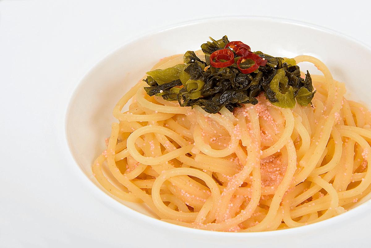 高菜明太のコクうまパスタpage-visual 高菜明太のコクうまパスタビジュアル